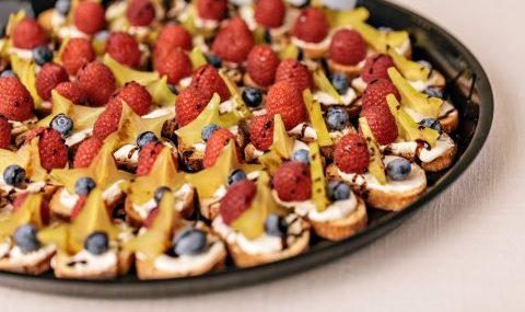 Fruit Crostinis