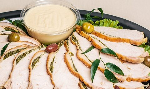Herb Marinated Turkey Breast
