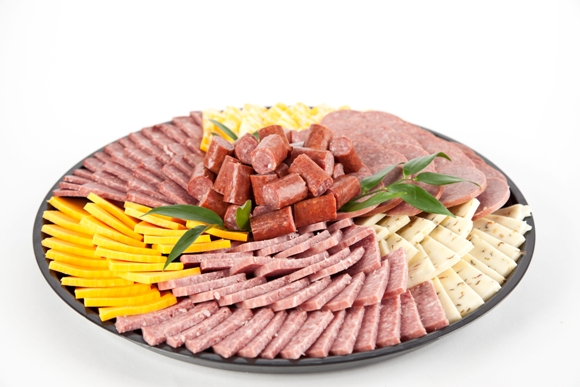 Meat and Cheese Snacker Tray