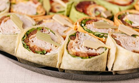 Tortilla Wrap Appetizers