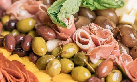 Italian Meat Antipasto Platter