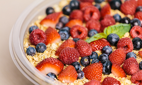 Fruit & Granola Trifle