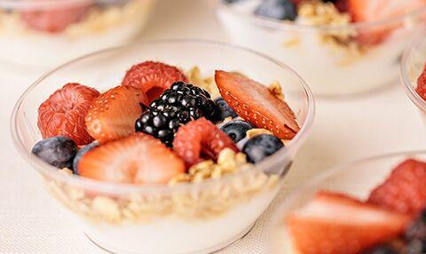 Yogurt & Granola Parfaits