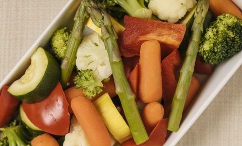 Steamed Mixed Vegetables