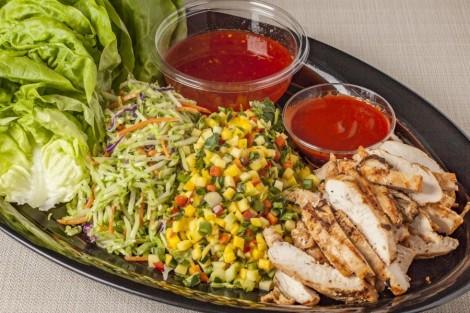 Lettuce Wrap Platter