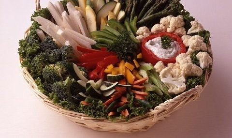 Crudite Vegetable Basket