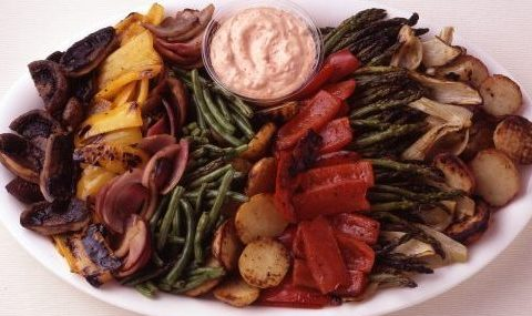 Herb Roasted Vegetable Platter