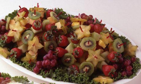 Mini Fruit Skewers
