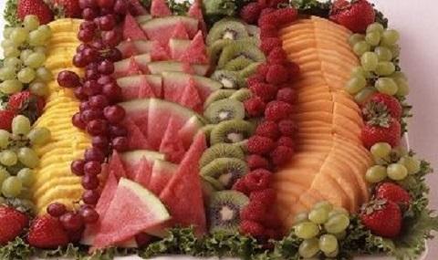 Cascading Fruit Platter